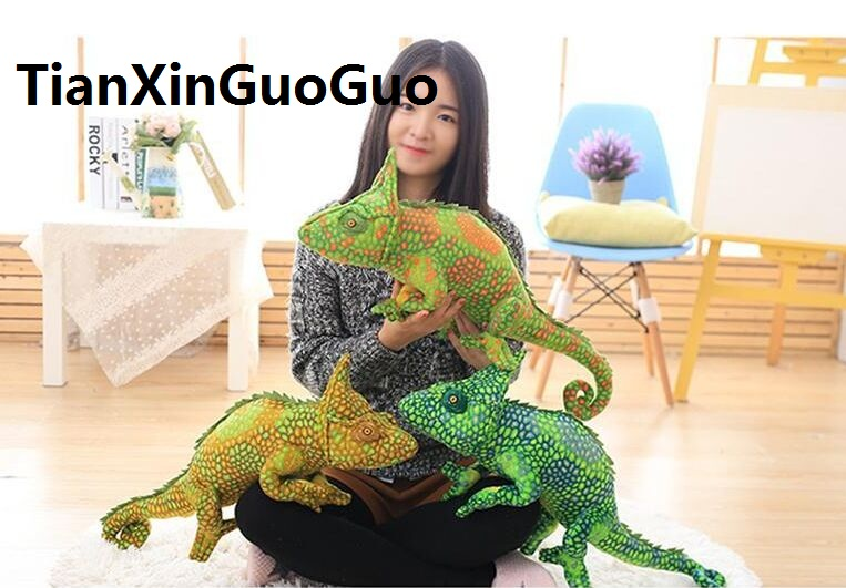 new arrival simulation lizard chameleon large 65 cm plush toy soft pillow birthday gift b2970 new wallet бумажник chameleon