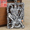 Guan Yu  S925 Sterling Silver   Pendant in  Thailand sent her tag