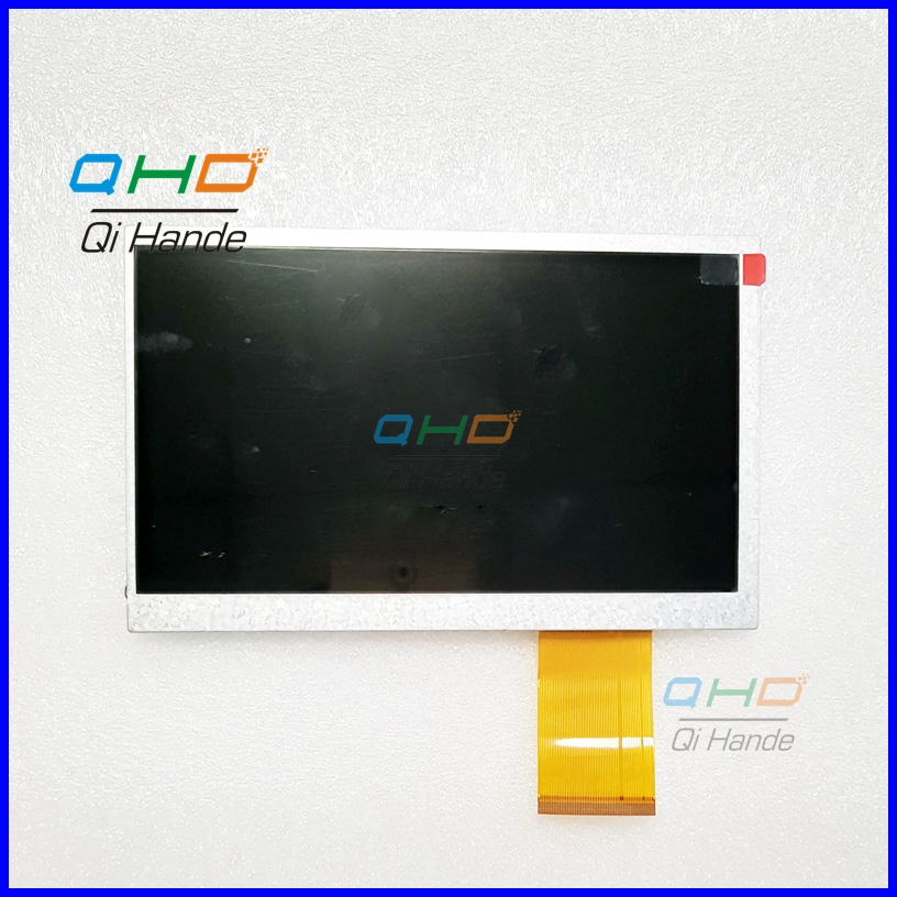 LCD Display Matrix 7 inch TABLET H-B0715FPC-21-U 60p TFT LCD Screen Panel Lens Frame replacement Free Shipping new lcd display 7 inch tablet fpc lb07025 v2 inner tft lcd screen panel matrix digital replacement free shipping