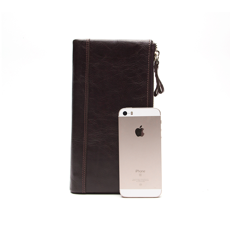 bolsa masculina Material : Cowhide Genuine Leather Men Wallet
