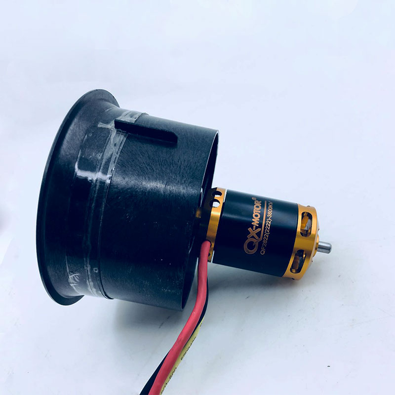 Image 5 - 64mm EDF Set 2822 3800KV Brushless Motor with 12 Blades Ducted 