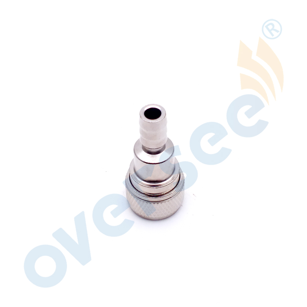 65750-95500 Stainless Steel Fuel Socket Replaces For Suzuki 15HP 30HP 40HP Outboard Engine Fuel Pipe Socket Aftermarket Parts
