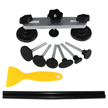 цена на PDR Tools To Remove Dents Paintless Dent Repair Puller Kit Auto Tools Pulling Bridge Glue Sticks repair hammer with tap down PDR