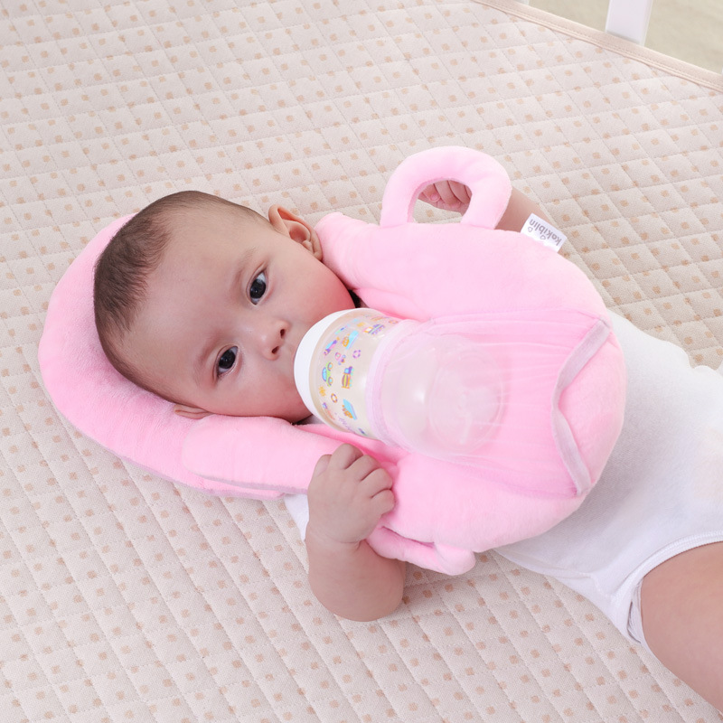 Baby Nursing Pillow Multifunctional Newborn Baby Artifact Anti-Spit Milk Infant U-Pillow  Cute Cartoon Cotton