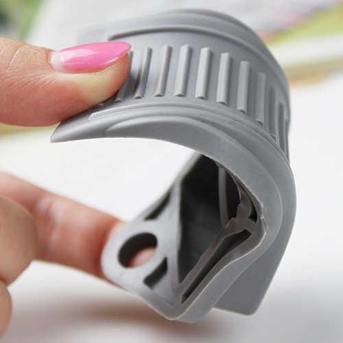 Резиновые дверные ограничители безопасности удерживают двери от захлопывания, предотвращают повреждения пальцев