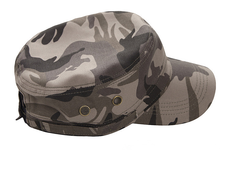 men women camouflage flat bucket hats military style outdoor sunhat fishing camping cap mountain hiking hunting gear unisex - Anna's holiday store