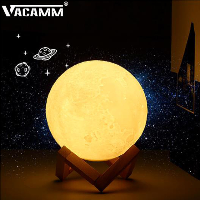 Vacamm Led Cabinet Lighting Rechargeable Moon Light 2