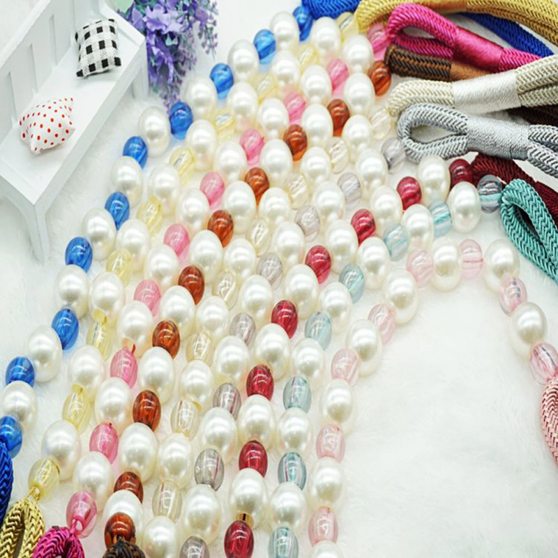 Beautiful Pearl Curtain Holders Tieback Clips Hanging