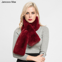 Jancoco Max 2018 Top Quality Faux Fur Scarf Women S Fashion Style Casual Shawls Autumn Winter