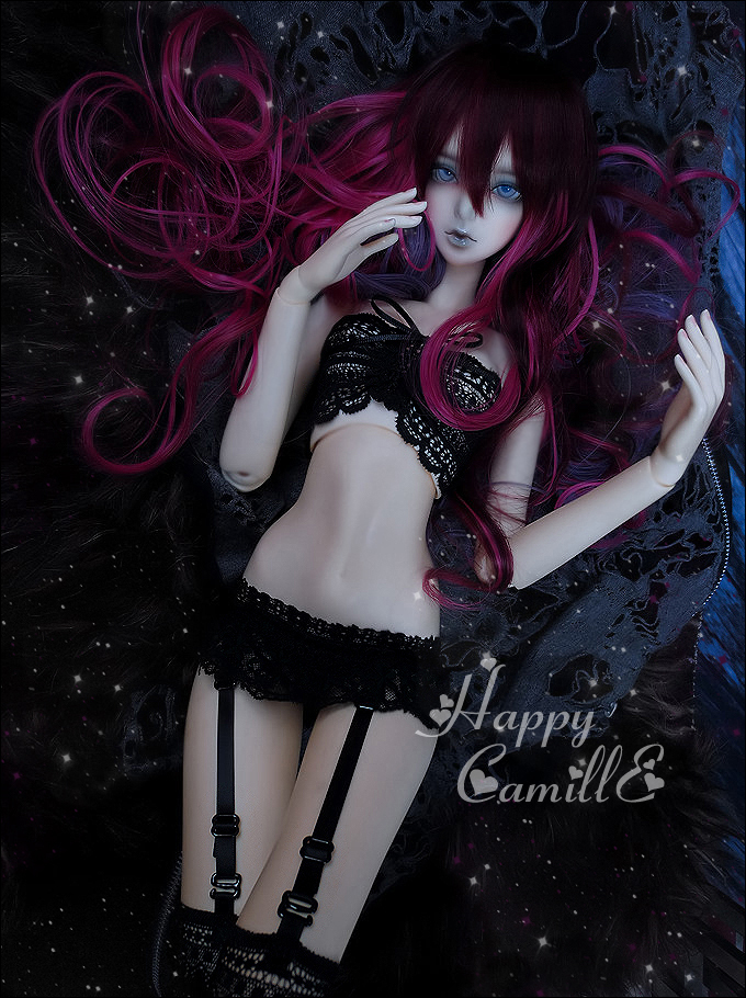 1/4 1/3 scale BJD  doll wig long hair for DIY BJD/SD accessory.Not included doll,clothes,shoes,and other accessories 17C3241