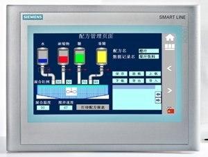 """Б/у 6AV6648-0AC11-3AX0 SIMATIC HMI SMART 700, умная панель, сенсорное управление, """" широкоэкранный TFT дисплей"""