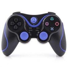 Пульты ДУ Беспроводной Bluetooth Пульты ДУ Геймпады для PS 3 двойной Двигатель вибрации bluetooth джойстик для Игровые приставки 3 шт. 3