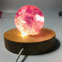 5 6cm High quality amethyst ball handcrafted crystal lamp wicca home decoration accessories Natural gemstone properties
