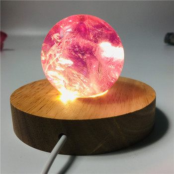 5-6cm High quality amethyst ball handcrafted crystal lamp wicca home decoration accessories Natural gemstone properties