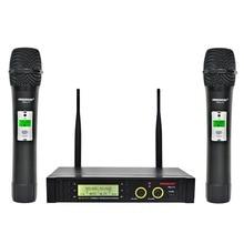 Freeboss FB U11 مكبر صوت لا سلكي ذو تردد فوق العالي نظام 2 طريقة 100 قنوات IR تردد ميكروفون لاسلكي Karoke KTV ميكروفون ديناميكي للحفلات