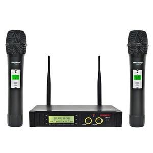 Image 1 - Freeboss FB U11 UHF Wireless Microphone System 2 way 100 Channels IR Frequency Wireless Mic Karoke KTV Party Dynamic Microphone
