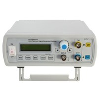 2MHz Dual Channel DDS Function Signal Generator Sine Square Wave Sweep Counter Frequency Range 1Hz 60MHz