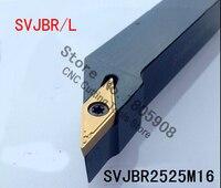SVJBR2525M16 25*25*150MM Metal Lathe Cutting Tools Lathe Machine CNC Turning Tools External Turning Tool Holder S Type SVJBR/L|tool id|tool stanley|tool -