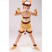 Lion Playing Costume Animal Model As Fashion Elephant Playing Costume Festival Costumes Lion Performance Clothing COSPLAY