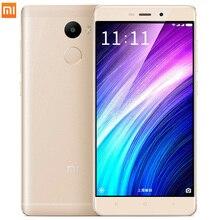 Оригинал Xiaomi Redmi 4 2 ГБ RAM 16 ГБ ROM Snapdragon 430 red rice 4 5.0 Дюймов 4100 мАч 13.0MP Redmi4 Мобильных Телефонов