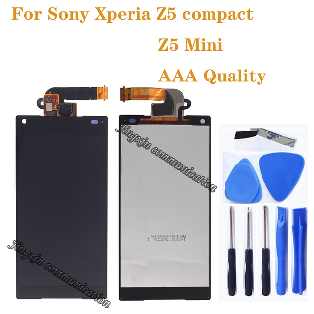 """4,6 """"AAA pantalla para Sony Xperia Z5 compact LCD + Digitalizador de pantalla táctil en lugar para Sony XPERIA Z5 mini E5823 E5803 LCD componente"""