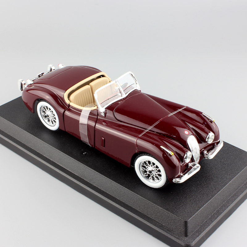 kid's 1:24 Scale mini Maisto classic vintage 1951 Jaguar Xk 120 XK120 Roadster automobile die cast model toy car for Collectible цена