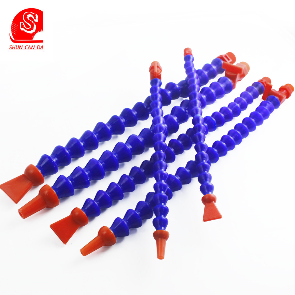 300mm 700mm Round Nozzle Plastic Flexible Water Oil Coolant Pipes Hoses With Switch For CNC Machine Lathe Milling Cooling Tube