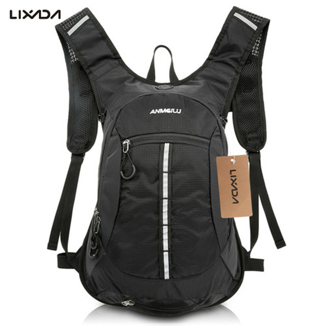 3a2cf7091c2ce5 15L Unisex Outdoor Backpack Cycling Backpacks Shoulder Waterproof Hydration  Rucksack Travel Hiking Camping Water Bag Mochila