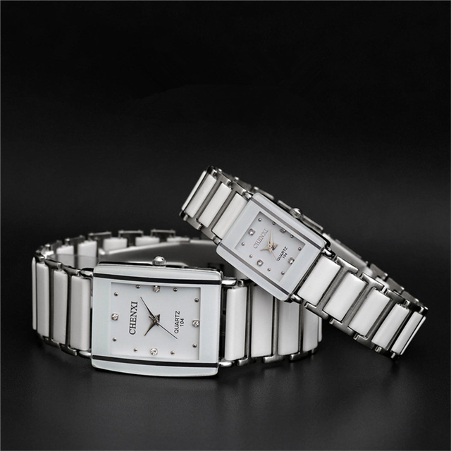 Fashion Quartz Watch Steel Couple Wrist Watches Luxury Women Lovers Relogio Femi