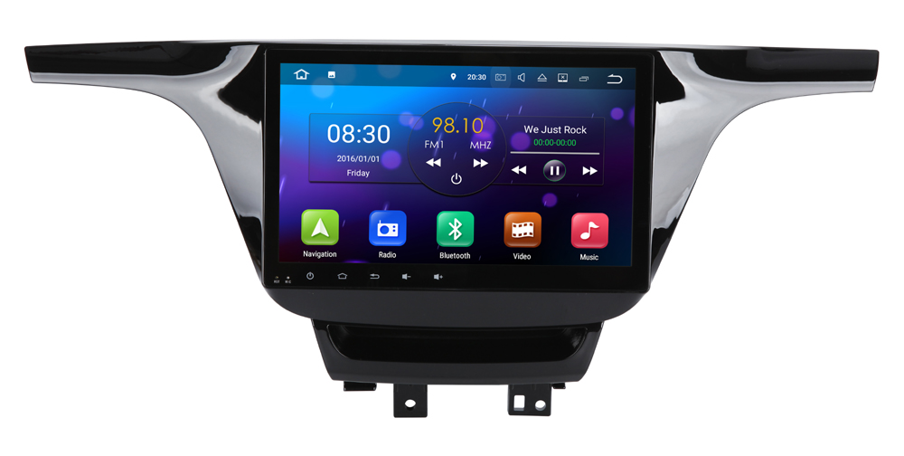 10 1 inch Screen 2G RAM Android 7 1 System Car DVD Player GPS Navigation font