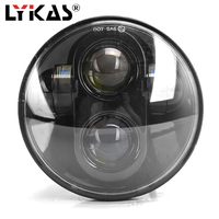 5.75 LED Motorcycle Headlight High/Low Beam Motor LED Headlamp Driving Light for Harley Davidson Projector Daymaker Headlights