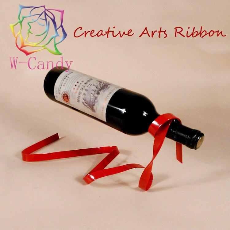 Rope Handmade Ribbon Art Creative Wine Holder Bottle Hanging Metal Rack Wine Stand Glass Holder Whisky Glass Holder Wine Chiller