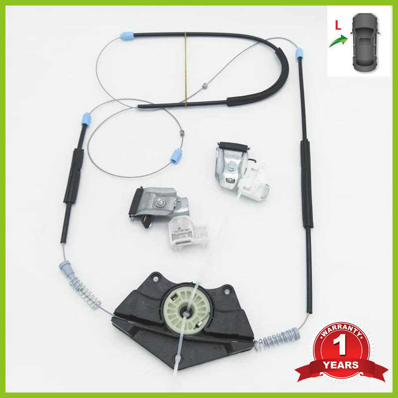 Voor VW Passat B5 B5.5 1997 1998 1999 2000 2001 2002 2003 2004 2005 Auto-Styling Venster Regulator Reparatie kit Linksvoor