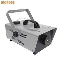 900w 1L Smoke Machine Remote/Wire Control Fog Smoke Machine DJ /Bar /Party /Show /Stage Machine Professional stage equipment