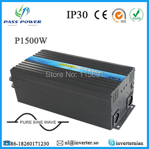 CE,ROHS,GMC Approved, 12v to 110v 1500w pure sine wave off grid inverterCE,ROHS,GMC Approved, 12v to 110v 1500w pure sine wave off grid inverter