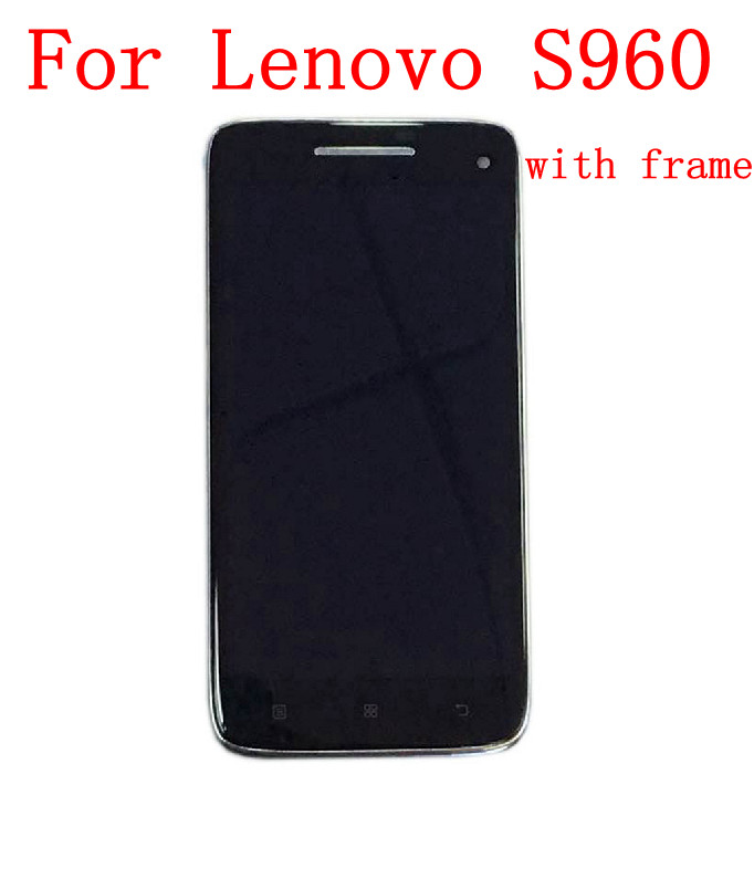 STARDE Replacement LCD For Lenovo VIBE X S960 S960T LCD Display Touch Screen Digitizer Assembly Frame 5
