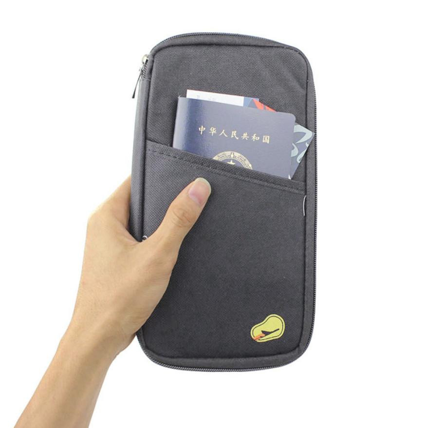Travel Passport ID Credit Card Holder Multifunction Bag Pouch Wallet Cash Case Good Quality Portable Card Holder Bags For Travel vintage recorder passport set 3d stereo document card пакет як падарунак для жанчын