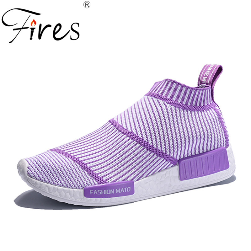 Fires Woman Casual Shoes Breathable Slip-on Sneakers Women New Arrivals Fashion Simple Loafers Summer Mesh Ladies Shoes new women s vulcanize shoes spring summer slip on sneakers black casual shoes women breathable hollow out woman sneakers