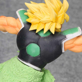Dragon Ball Z Super Saiyan broli Broly Full Power Brolly PVC Figure Collectible Model Toy Movie Ver. Green Hair VS Goku Broli