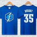 Плюс размер Кевин дюрант майка мужская хип-хоп мода бренд clothing 100% хлопок повседневная KD письмо футболка homme летом фитнес