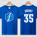 Plus size Kevin durant t shirt men's hiphop fashion brand clothing 100% cotton casual KD letter t-shirt homme summer fitness