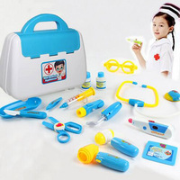 New Funny Toys Doctor Play sets Simulation Medicine Box Pretent Doctor Toys Stethoscope Injections Children gifts