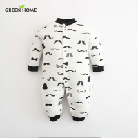 2016 Baby Newborn White And Black Baby Romper Autumn Spring And Autumn Long Sleeve Baby 1