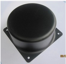 HIFIBOY toroidal transformer cover the external size is 120*67mm balck metal Metal Shield cover