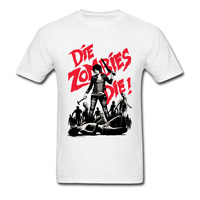 Horror Film 3D Digital Die Zombies Print T Shirts For Men Customized Personal Short Shirts Online