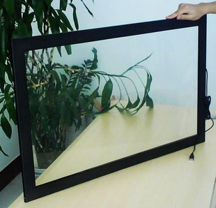 43 inch Multi Touch Screen Overlay Panel Kit / IR Touch Frame with 10 Points touch CE FCC ROHS