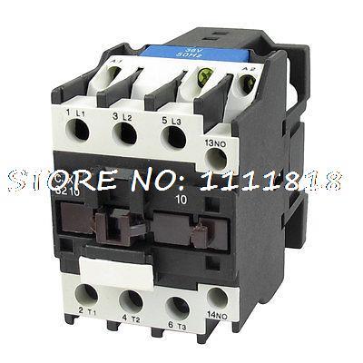 цена на CJX2-3210 660V 50A 15KW 3 Poles 3P NO DIN Rail AC Contactor 36V Coil