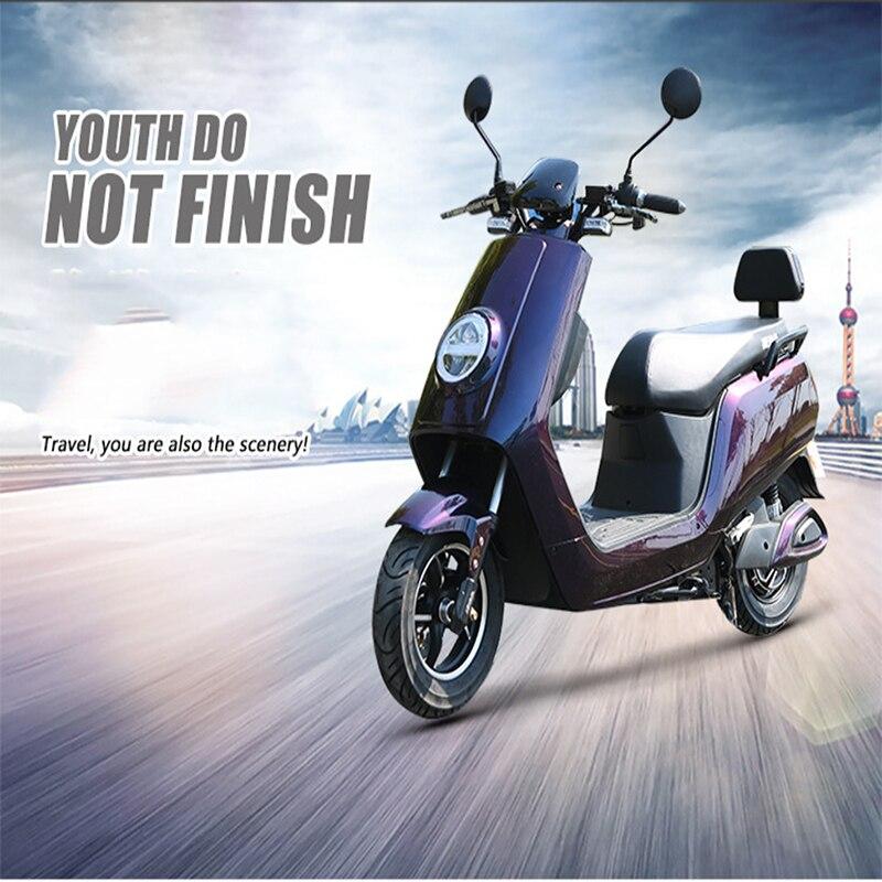 Moto électrique adulte trottinette électrique 1500 W moteur motos électriques 60 km/h alarme anti-effraction led projecteur panneau lcd citycoco