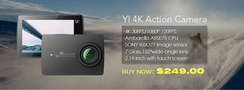 YI 4K Action Camera-banner