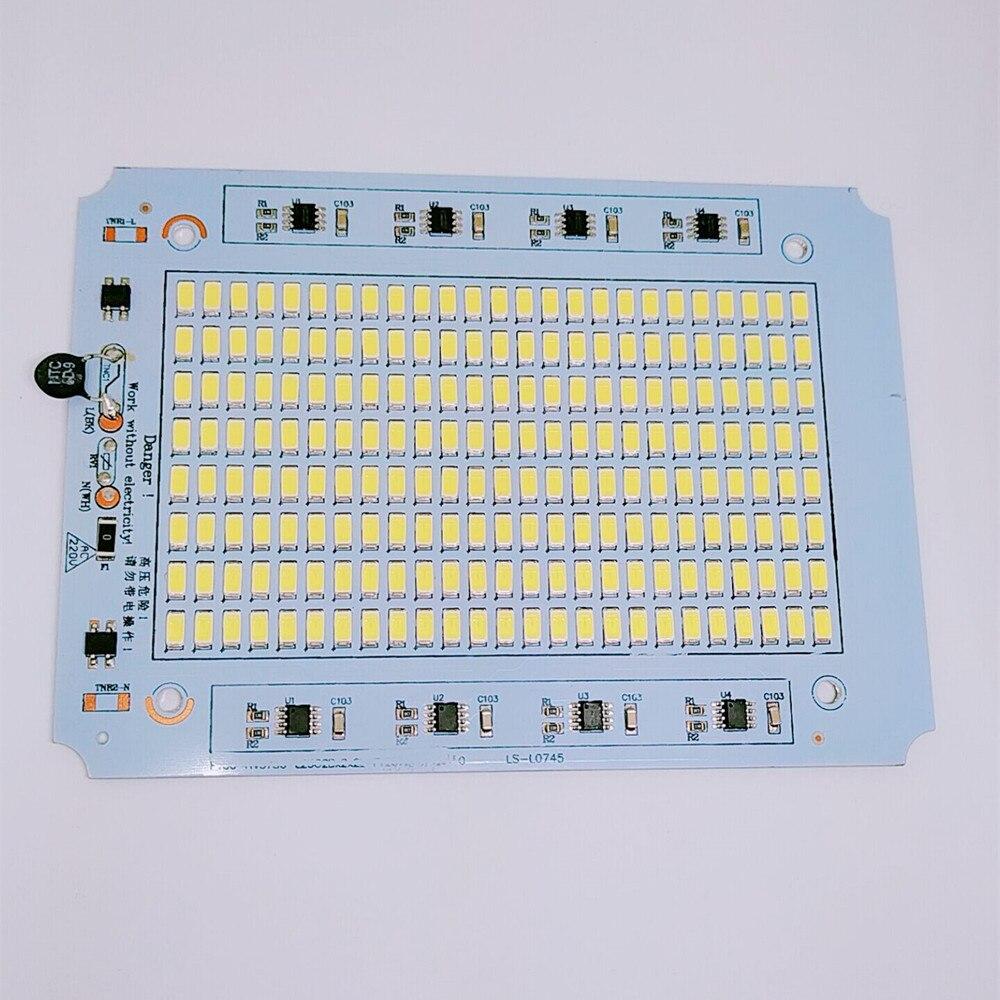 Led100w 150w 200w projectine lamp aluminum plate flood light smd light source 100w led lighting beads chip